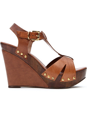 CARVELA Kate leather wedge sandals