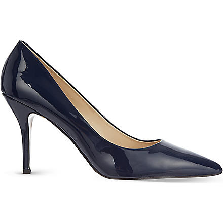 NINE WEST Flax patent courts (Navy