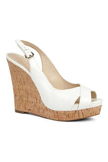 NINE WEST Laffnplay wedge sandals