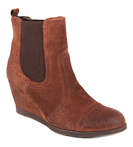 carvela sugar suede boots selfridges