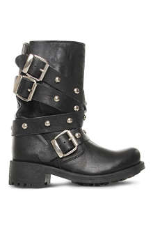 CARVELA Sammy leather biker boots