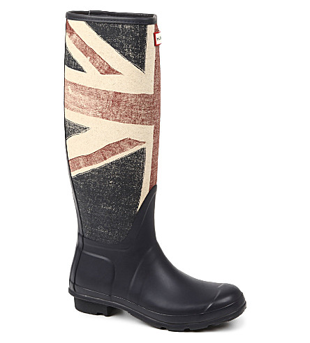 HUNTER Original Brit wellies (Navy