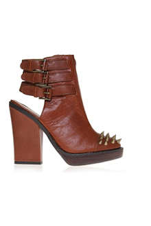 KG BY KURT GEIGER Vex leather ankle boots