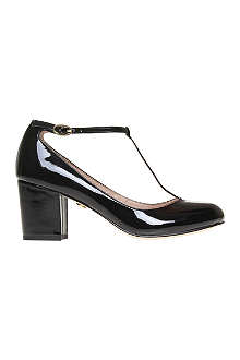 KG BY KURT GEIGER Daphine patent leather courts