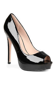KG BY KURT GEIGER Admire patent leather platform courts