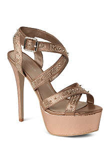 CARVELA Goddess metallic platform sandals