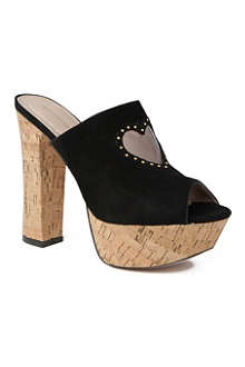 KG BY KURT GEIGER Nelly suede mules