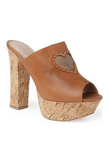 KG BY KURT GEIGER Nelly leather mules