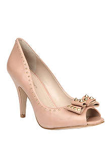 KG BY KURT GEIGER Brenda peep-toe court shoes