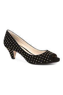 KG BY KURT GEIGER Carla suede studded courts