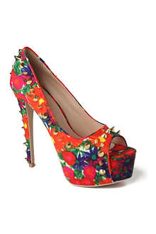 CARVELA Garland canvas platform courts