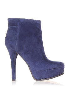 NINE WEST Likeaqueen suede ankle boots