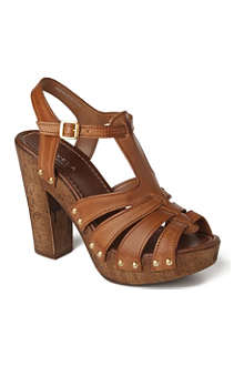 CARVELA Kimberly leather platfrom sandals