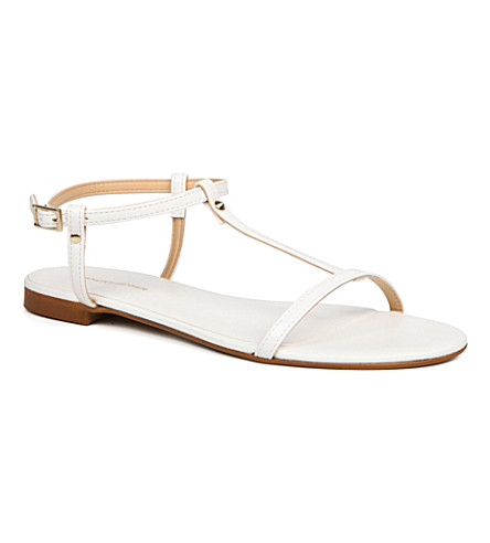 KG KURT GEIGER Match sandals (White