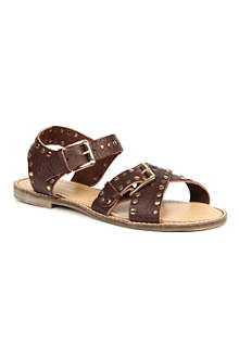 KG BY KURT GEIGER Marcella leather studded sandals