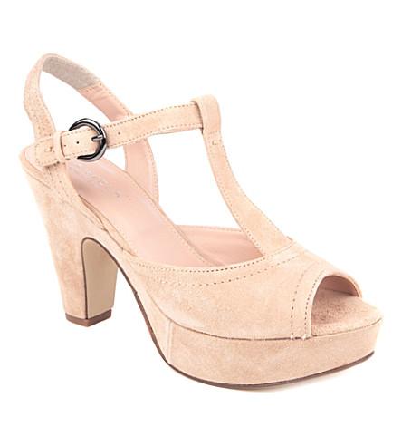 CARVELA Kourt platform sandals (Nude