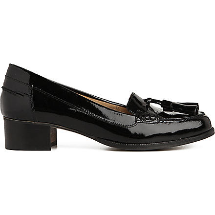CARVELA Lexie patent leather loafers (Black