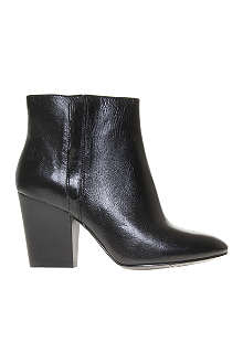 NINE WEST Darsy leather ankle boots