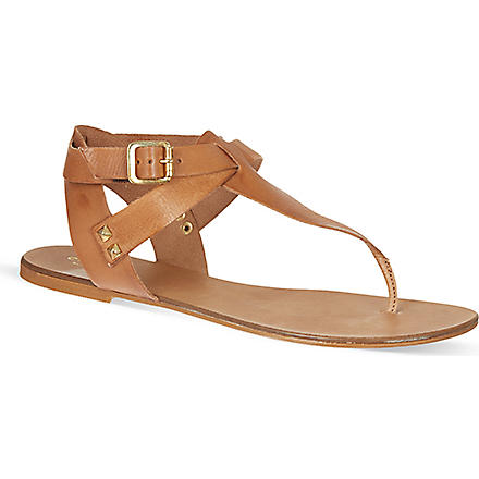CARVELA Kenya leather gladiator sandals (Tan