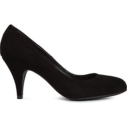 CARVELA Adam suede courts (Black