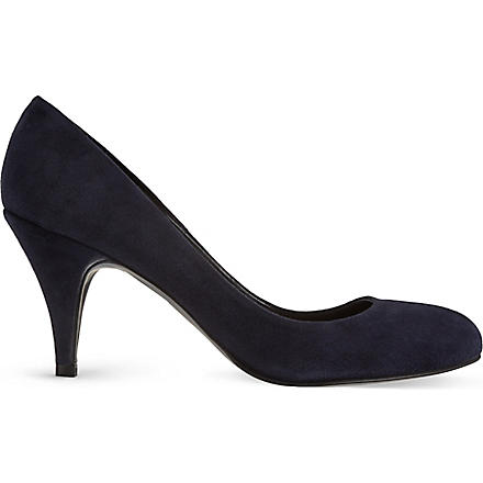 CARVELA Adam suede courts (Navy