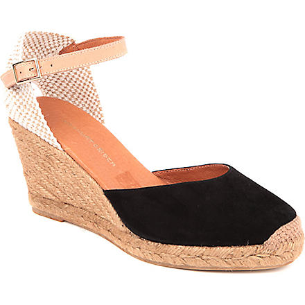KG BY KURT GEIGER Monty wedge sandals (Black