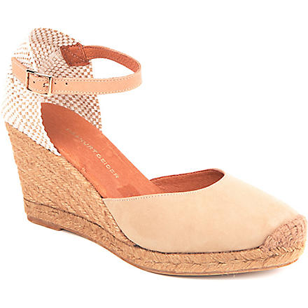 KG KURT GEIGER Monty wedge sandals (Beige