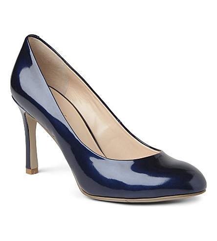 NINE WEST Drusilla3 patent courts (Navy