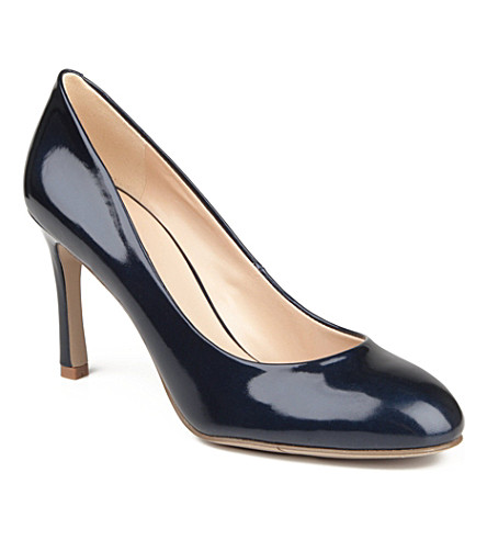 NINE WEST Drusilla patent courts (Navy
