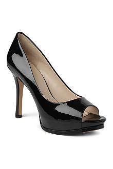 NINE WEST Miss3 patent peep-toe courts