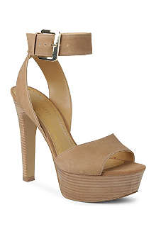 NINE WEST Archavia leather platform sandals