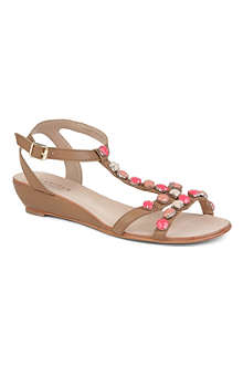 CARVELA Koala leather wedge sandals