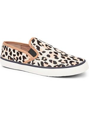 CARVELA Laurel ponyskin loafers