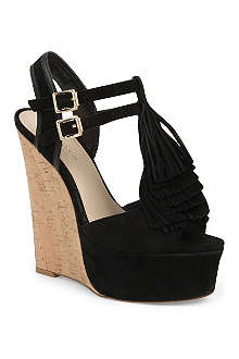 CARVELA Kola suede wedges