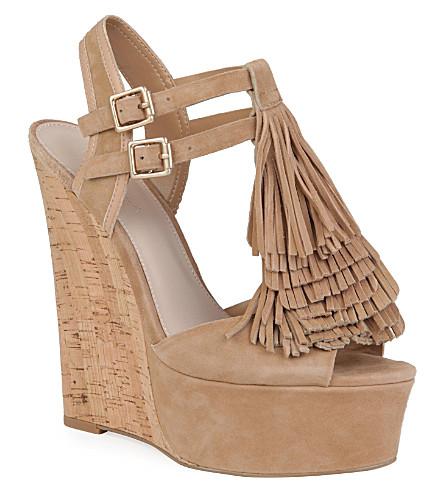 CARVELA Kola wedge sandals (Beige