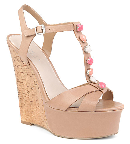 CARVELA Koup wedge sandals (Camel