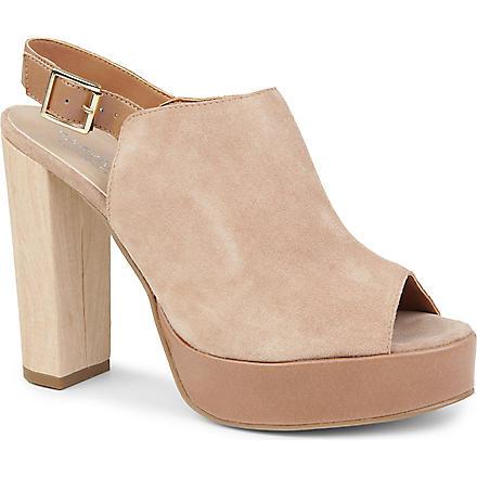 CARVELA Kake suede sandals (Nude