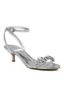NINE WEST Offcourse metallic embellished sandals