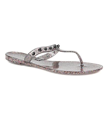 CARVELA Kristan jelly sandals (Black