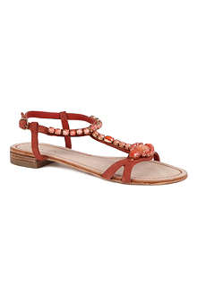 CARVELA Koko embellished suede sandals