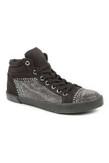 CARVELA Lorena leather high-top trainers
