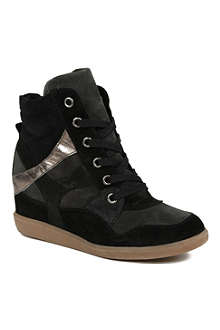 KG BY KURT GEIGER Lazer high-top wedge