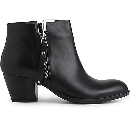CARVELA Scampy leather ankle boots (Black