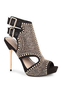 CARVELA Gyrate stud-embellished sandals