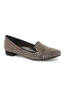 CARVELA Lark stud-embellished slippers