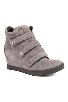 CARVELA Lire wedge suede high tops