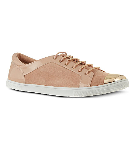 CARVELA Lollipop suede trainers (Nude