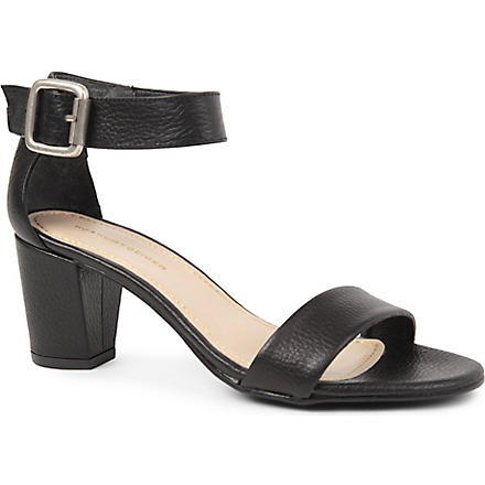 KG KURT GEIGER Nina leather sandals (Black