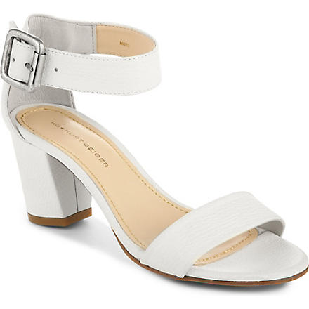 KG KURT GEIGER Nina leather sandals (White