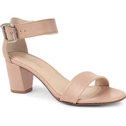 KG BY KURT GEIGER Nina leather sandals (Nude